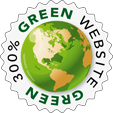 300% Green powered Website